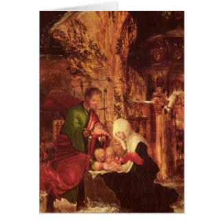 Birth of Christ , c.1520-25, Card