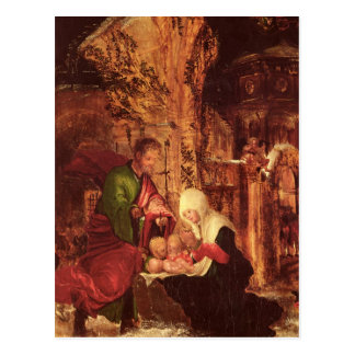 Birth of Christ , c.1520-25, Postcard