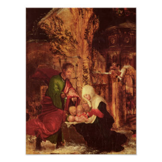 Birth of Christ , c.1520-25, Poster