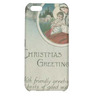 Birth of Jesus Christmas Greetings iPhone 5C Cover