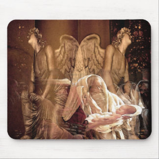 Birth of Jesus Mouse Pad