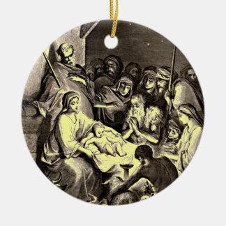 Birth of Jesus Ornament