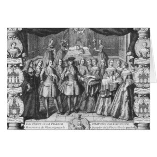 Birth of Louis, Dauphin of France Greeting Card