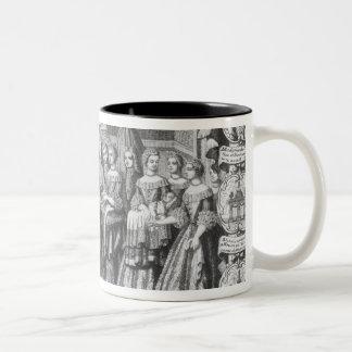 Birth of Louis, Dauphin of France Coffee Mugs