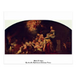 Birth Of Mary By Murillo Bartolomé Esteban Perez Postcard