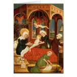 Birth of Mary Greeting Card