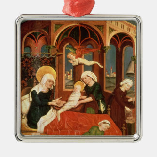Birth of Mary Metal Ornament