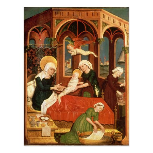 Birth of Mary Post Cards