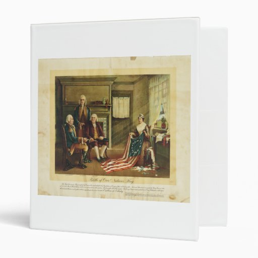 Birth of Our Nation's Flag by Thomas & Wylie 3 Ring Binders