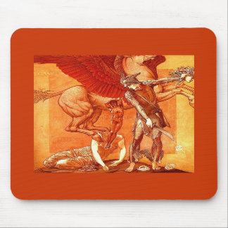 Birth of Pegasus & Chrysaor ~ Fine Art Painting Mousepad