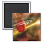 Birth of Saturn 2 Inch Square Magnet