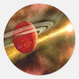 Birth of Saturn Classic Round Sticker