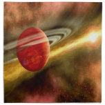 Birth of Saturn Cloth Napkins