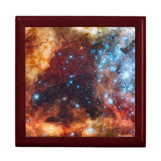 Birth of Stars Cosmic Creation Blue Stars Nebula Gift Box