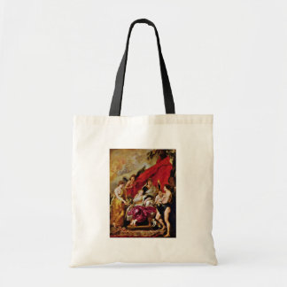 Birth Of The Dauphin Louis Xiii. By Rubens Peter Budget Tote Bag