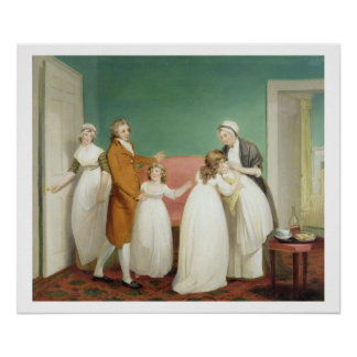 Birth of the Heir, c.1799 (oil on canvas) see also Poster
