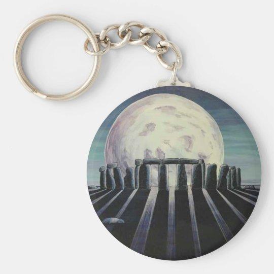 Birth of the moon keychain