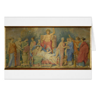 Birth of the Muses by Jean Auguste Dominique Ingre Card