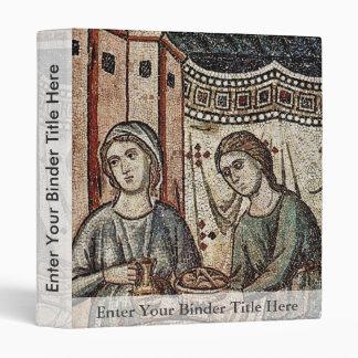 Birth Of The Virgin Detail By Cavallini Pietro Vinyl Binder