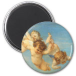 Birth of Venus, Angels detail by Cabanel 2 Inch Round Magnet