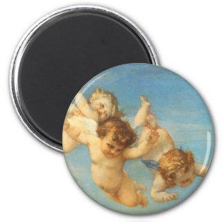 Birth of Venus, Angels detail by Cabanel Refrigerator Magnets