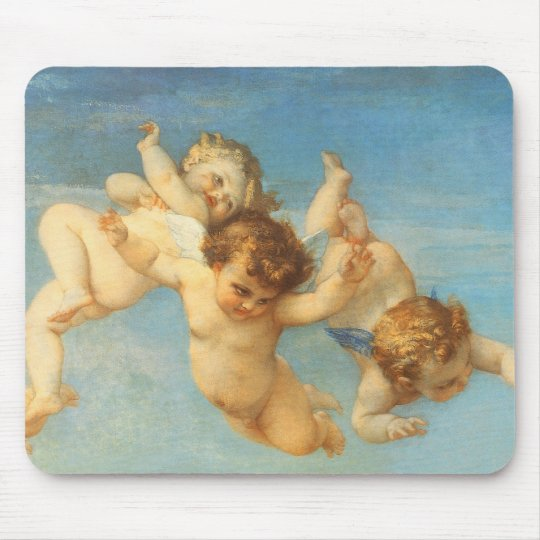 Birth of Venus, Angels detail by Cabanel Mouse Pad