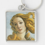 Birth of Venus Botticelli Fine Art Keychain