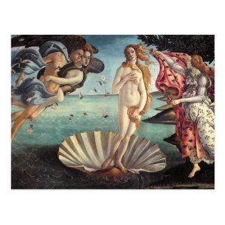 Birth of Venus Botticelli Postcard