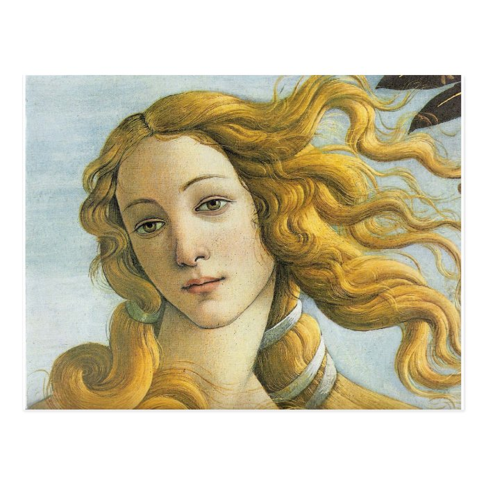 Birth of Venus - Botticelli Postcard