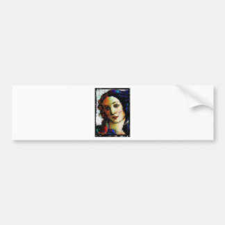 Birth Of Venus Bumper Sticker