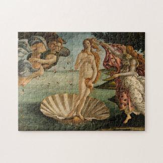 Birth of Venus by Botticelli Puzzle