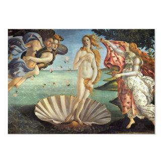 Birth of Venus by Botticelli, Renaissance Art Invitations