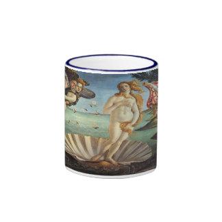 Birth of Venus by Botticelli Renaissance Art Coffee Mugs