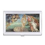 Birth of Venus by Botticelli, Renaissance Art Business Card Holders