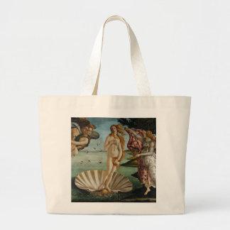 Birth of Venus by Sandro Botticelli Canvas Bag