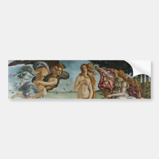 Birth of Venus by Sandro Botticelli Bumper Sticker