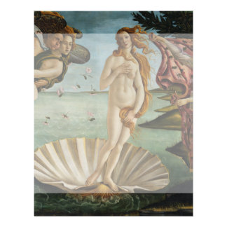Birth of Venus by Sandro Botticelli Flyer