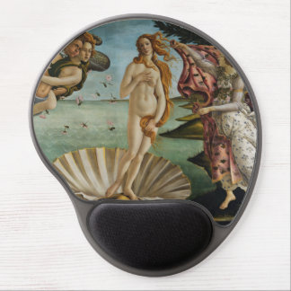 Birth of Venus by Sandro Botticelli Gel Mouse Pads