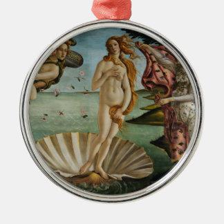 Birth of Venus by Sandro Botticelli Metal Ornament