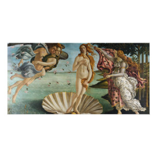 Birth of Venus by Sandro Botticelli Personalized Photo Card