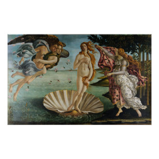 Birth of Venus by Sandro Botticelli Poster