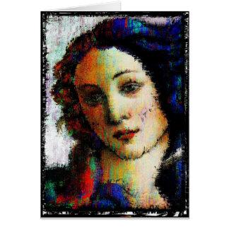 Birth Of Venus Card