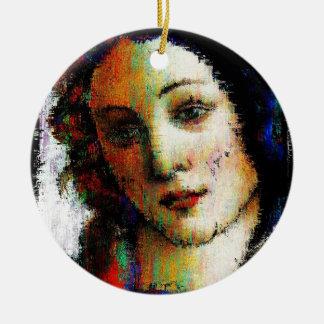 Birth Of Venus Ceramic Ornament