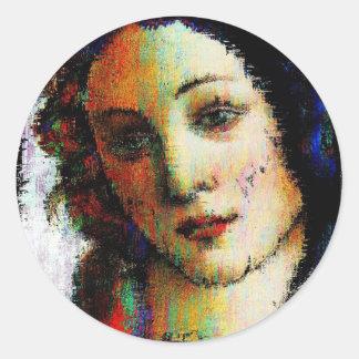 Birth Of Venus Classic Round Sticker