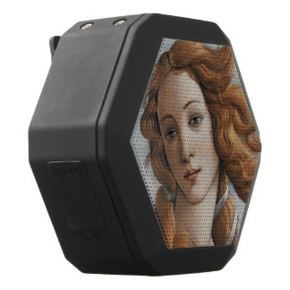 Birth of Venus close up by Sandro Botticelli Black Bluetooth Speaker