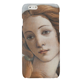 Birth of Venus close up by Sandro Botticelli Glossy iPhone 6 Case
