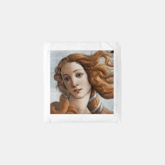 Birth of Venus close up by Sandro Botticelli Reusable Bag