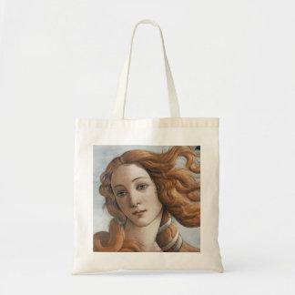 Birth of Venus close up head Bags
