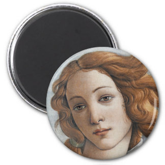 Birth of Venus close up head Refrigerator Magnet