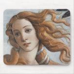 Birth of Venus close up head Mouse Pad
